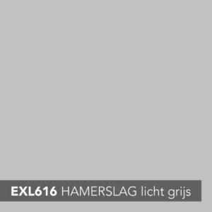 EXTORIET HAMERSLAG LICHT GRIJS