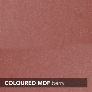 MDF INNOVUS COLOURED - BERRY