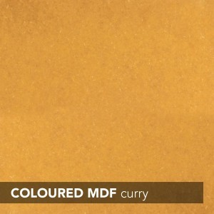 MDF INNOVUS COLOURED - CURRY