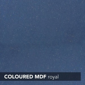 MDF INNOVUS COLOURED - ROYAL