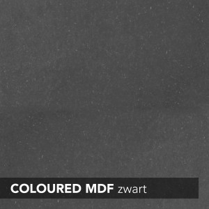 MDF INNOVUS COLOURED - ZWART