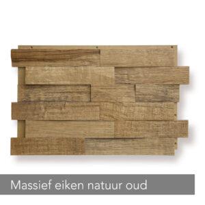 Reliefholz Massief eiken natuur oud